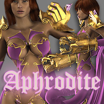 Aphrodite for V4 A4 G4 Elite 3D Figure Assets 3D Models powerage