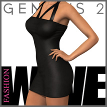 FASHIONWAVE Singles: Sharon for Genesis 2 Female(s) - V6/G6/Gia 3D Figure Essentials 3D Models outoftouch