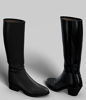 Riding Boots 3D Figure Essentials idler168