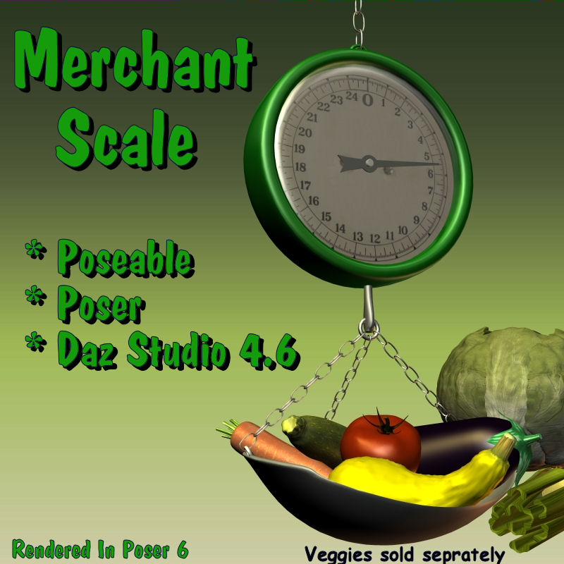 Merchant Scale MS411
