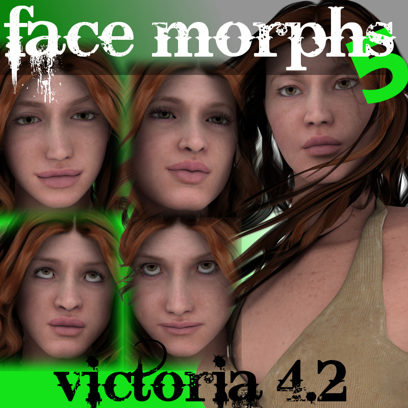 Farconville's Face Morphs 5 For Victoria 4.2