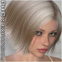 PHC : Calais Themed Hair P3D-Art