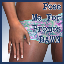 Pose Me For Promos DAWN Themed Poses/Expressions Software lunchlady