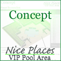 Nice Places - VIP Pool Area by 3-D-C image 1