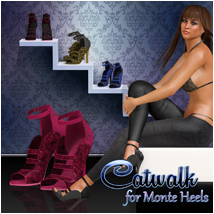 Catwalk for Monte Heels Footwear Atenais