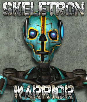 Skeletron Warrior Themed Stand Alone Figures Cybertenko