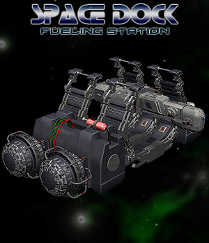 Space Dock Fuel Station Props/Scenes/Architecture Software Themed Simon-3D