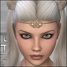 PHC : Unicorn Themed Accessories Hair P3D-Art