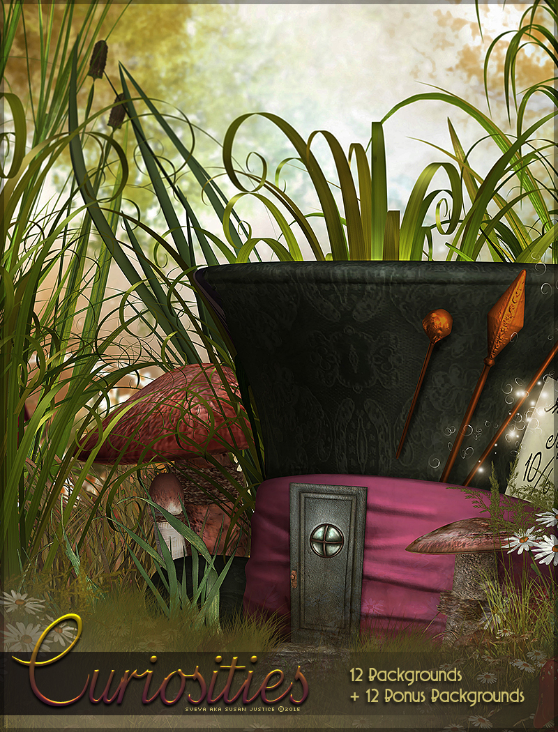 Curiosities Backgrounds