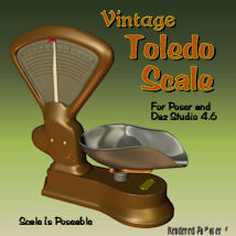 Toledo Scale_TS 3D Models pappy411