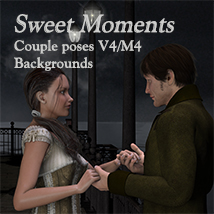 Sweet Moments 2D Graphics 3D Figure Assets Leije
