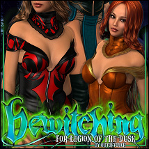 Bewitching for Legion of the Dusk Clothing ShanasSoulmate
