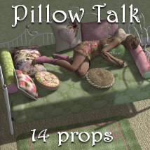 Pillow Talk 3D Models JudibugDesigns