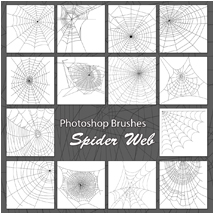 PB - Spider Web 2D Graphics Atenais