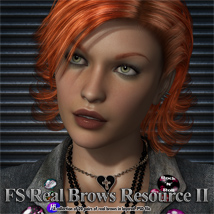 FS Real Brows Resource II 2D Graphics FrozenStar