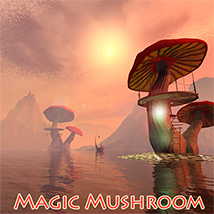 Magic Mushroom Props/Scenes/Architecture Themed 1971s