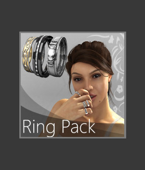 Ring Pack 3D Figure Assets 3D Models TruForm