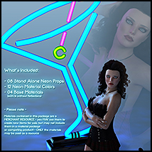 SV's Neon Pinup Props image 1