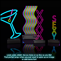 SV's Neon Pinup Props image 3