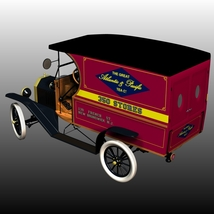 FORD T DELIVERY ( for Poser ) image 1