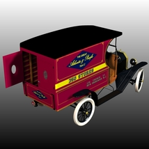 FORD T DELIVERY ( for Poser ) image 3