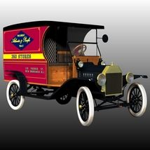 FORD T DELIVERY ( for Poser ) image 5