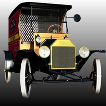 FORD T DELIVERY ( for Poser ) image 6