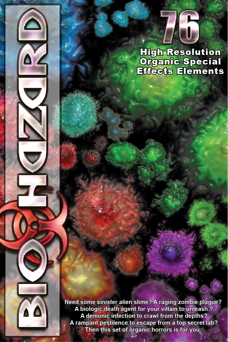 BioHazard special effects elements