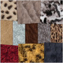 Digital Patterns - Fur 2D Graphics Atenais
