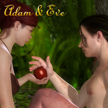 Adam & Eve Themed Poses/Expressions Software lunchlady