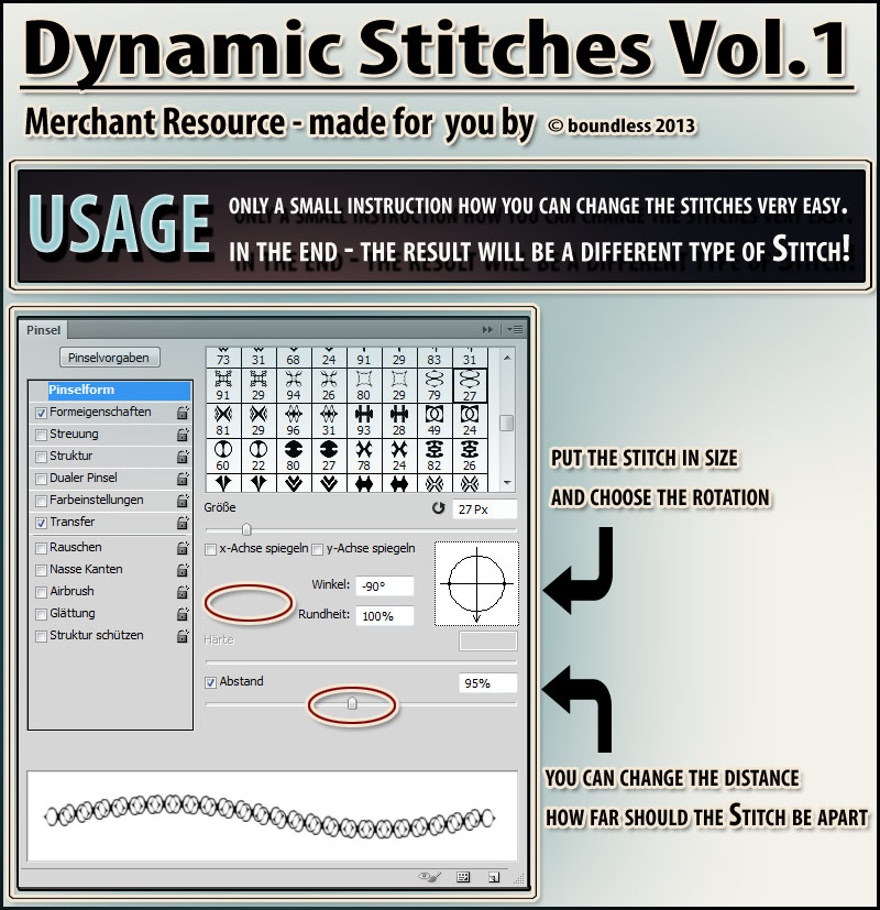 Dynamic Stitches Vol. 1 by boundless