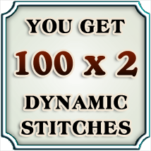 Dynamic Stitches Vol. 1 2D Graphics Merchant Resources boundless