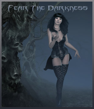 Fear The Darkness 2D Graphics 3D Figure Assets 3D Models ilona