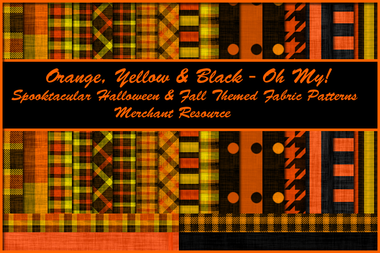 Orange, Yellow & Black - Oh My!