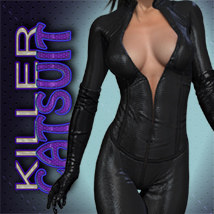 Exnem Killer Catsuit 3D Figure Essentials exnem