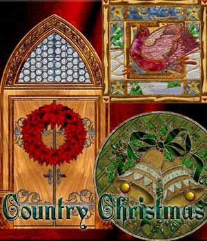 Harvest Moons Country Christmas  Themed 2D And/Or Merchant Resources MOONWOLFII