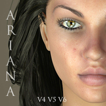 Ariana for V4, V5 & V6 3D Figure Essentials adamthwaites