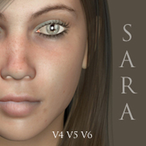 Sara for V4, V5 & V6 3D Figure Essentials adamthwaites