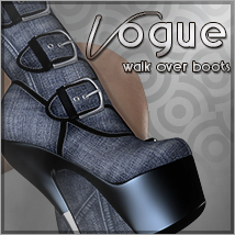 Vogue for Walk Over Boots Footwear Themed Sveva
