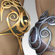 MORE Textures & Styles for Elven Fantasykini image 1