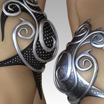 MORE Textures & Styles for Elven Fantasykini image 3
