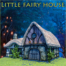 Little fairy house 3D Models 1971s