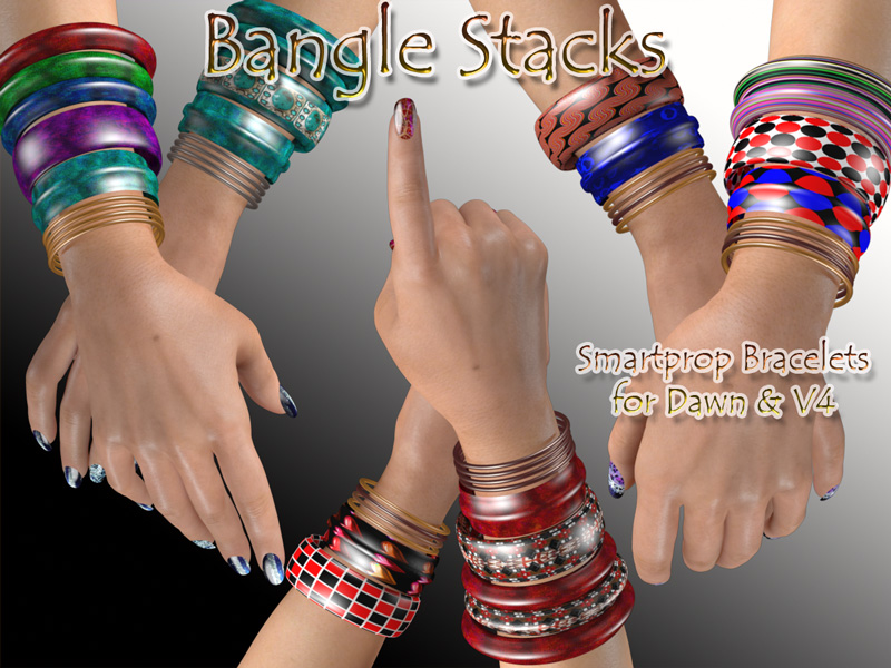 Bangle Stacks for Dawn and V4