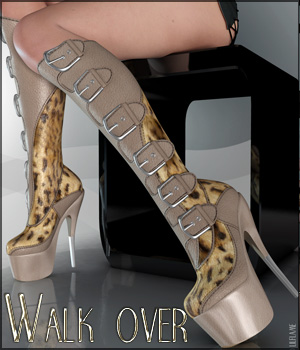 Walk Over V4/A4/G4 Clothing Footwear Themed lilflame