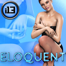 i13 ELOQUENT Pose Collection for V4 3D Figure Assets 3D Models ironman13