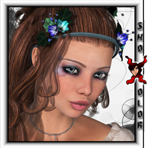 ShoXoloR for Caliana Hair Hair ShoxDesign