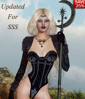 "B#1 1 Click ""Gaurdians"" Super Skinz Bodygloves 3D Figure Essentials 3D Models lululee"
