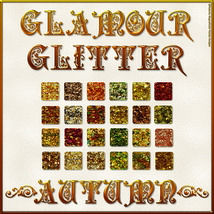 BLING! GLAMOUR GLITTER-AUTUMN Layer Styles 2D Graphics fractalartist01