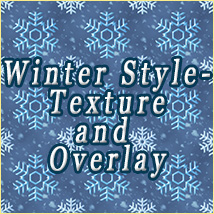 OB Winter Style-Texture and Overlay 2D And/Or Merchant Resources olbor