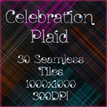 Celebration Plaid 2D hotlilme74